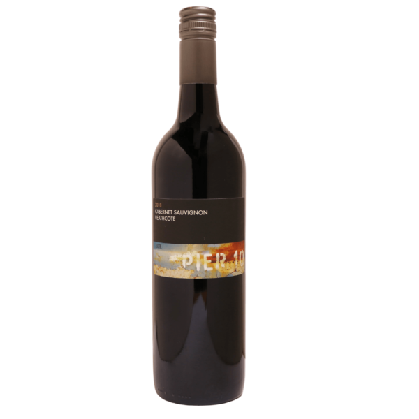 Pier 10 wine Heathcote Cab Sav