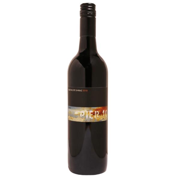 Pier 10 wine Heathcote Shiraz 18
