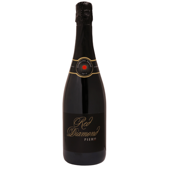 Pier 10 wine Red Diamond sparkling